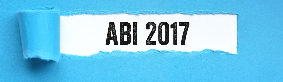 Schriftzug mit dem Text Abi 2017